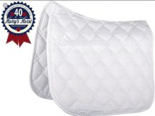 HARRYS HORSE CRYSTAL BOUND WHITE DRESSAGE CLOTH